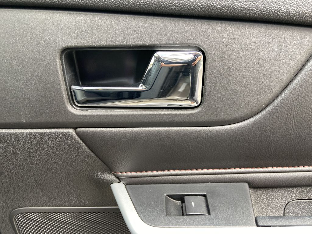 Gray[Mineral Grey] 2014 Ford Edge SEL Passenger Rear Door Controls Photo in Calgary AB