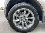 Gray[Mineral Grey] 2014 Ford Edge SEL Left Front Rim and Tire Photo in Calgary AB