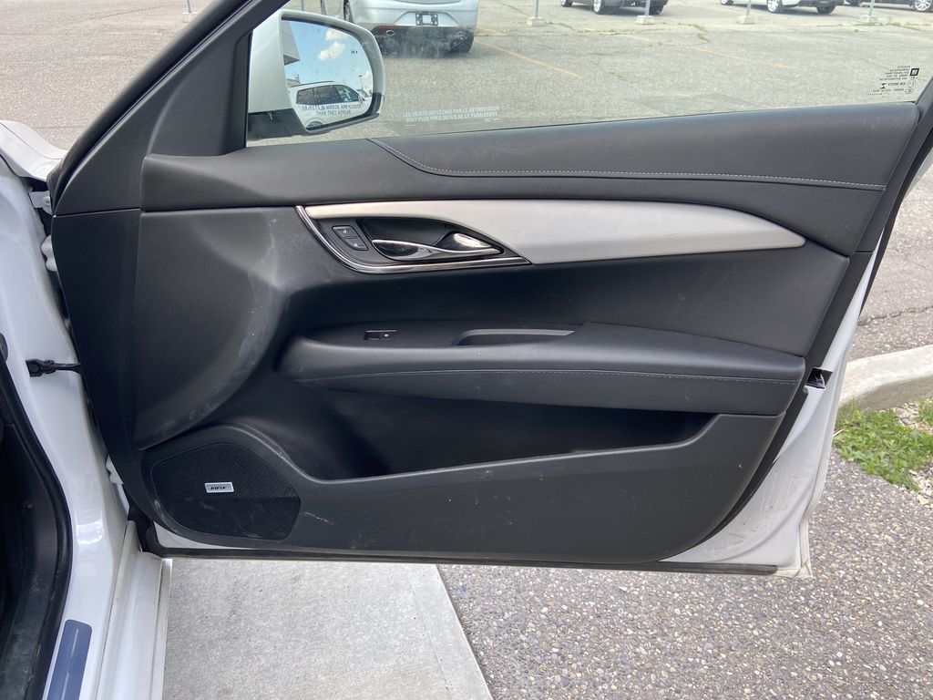 White[Crystal White Tricoat] 2017 Cadillac ATS Sedan Luxury Right Front Interior Door Panel Photo in Calgary AB