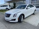 White[Crystal White Tricoat] 2017 Cadillac ATS Sedan Luxury Left Front Head Light / Bumper and Grill in Calgary AB