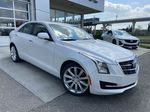 White[Crystal White Tricoat] 2017 Cadillac ATS Sedan Luxury Primary Listing Photo in Calgary AB