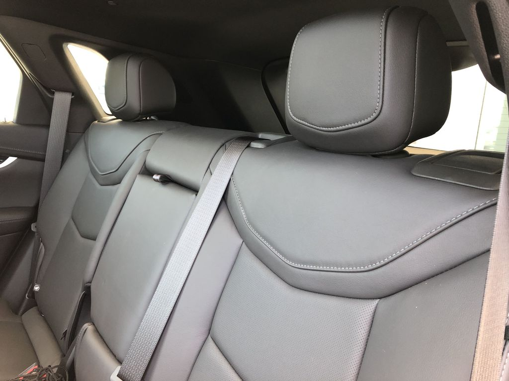White[Crystal White Tricoat] 2020 Cadillac XT5 Left Side Rear Seat  Photo in Edmonton AB