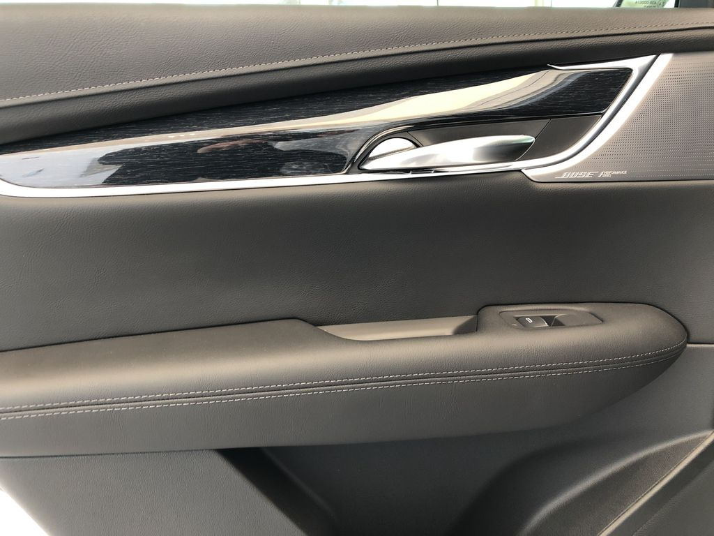 White[Crystal White Tricoat] 2020 Cadillac XT5 Left Rear Interior Door Panel Photo in Edmonton AB