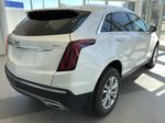 White[Crystal White Tricoat] 2020 Cadillac XT5 Right Rear Corner Photo in Edmonton AB