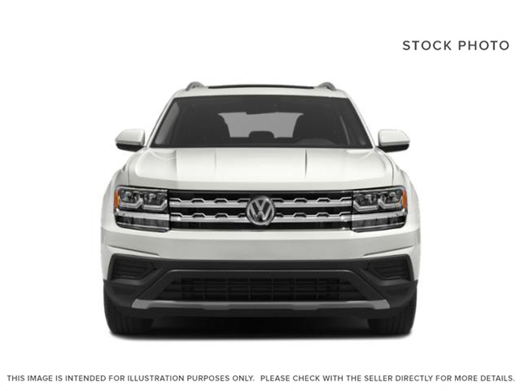 White 2018 Volkswagen Atlas Front Vehicle Photo in Lethbridge AB