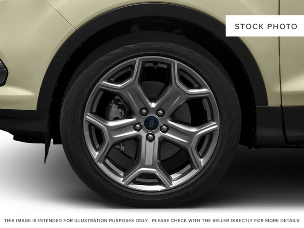 2017 Ford Escape Left Front Rim and Tire Photo in Airdrie AB