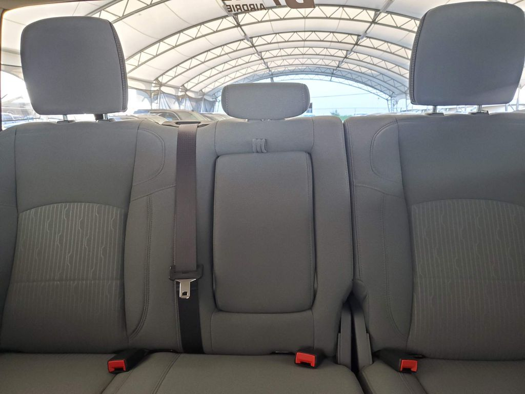 White 2019 Ram 2500 Left Side Rear Seat  Photo in Airdrie AB
