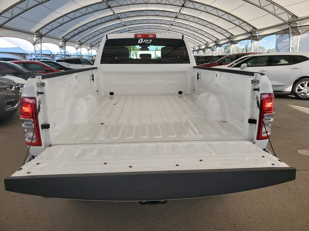 White 2019 Ram 2500 Strng Wheel/Dash Photo: Frm Rear in Airdrie AB