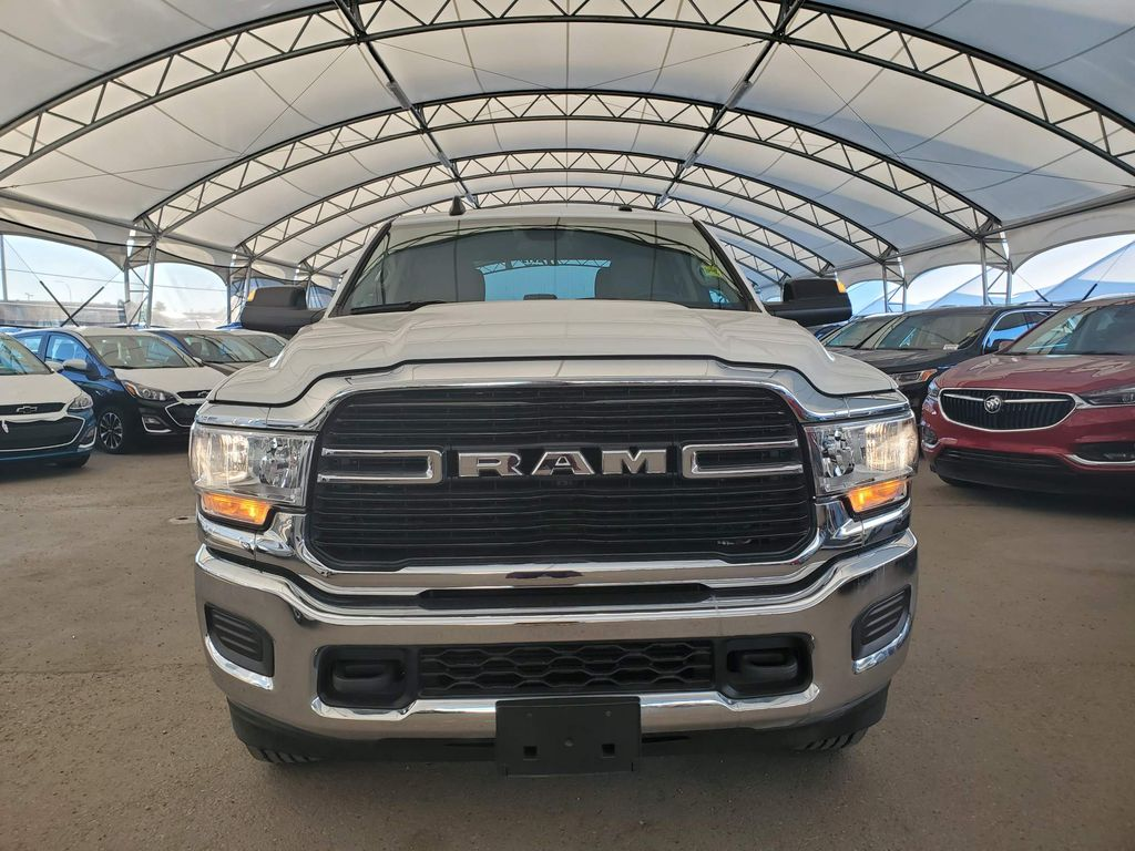 White 2019 Ram 2500 Left Front Corner Photo in Airdrie AB