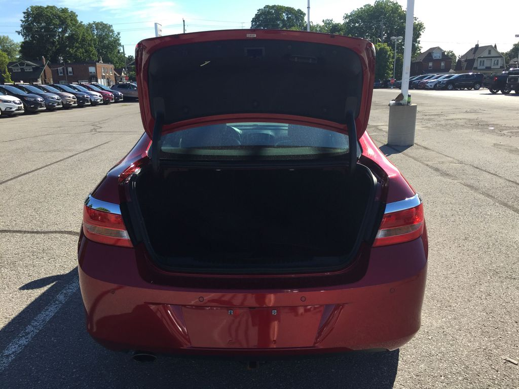 Red 2017 Buick Verano Left Side Rear Seat  Photo in Oshawa ON