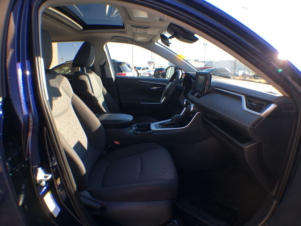 Blue[Blueprint] 2020 Toyota RAV4 AWD XLE Standard Package R1RFVT AM Right Side Front Seat  Photo in Brampton ON
