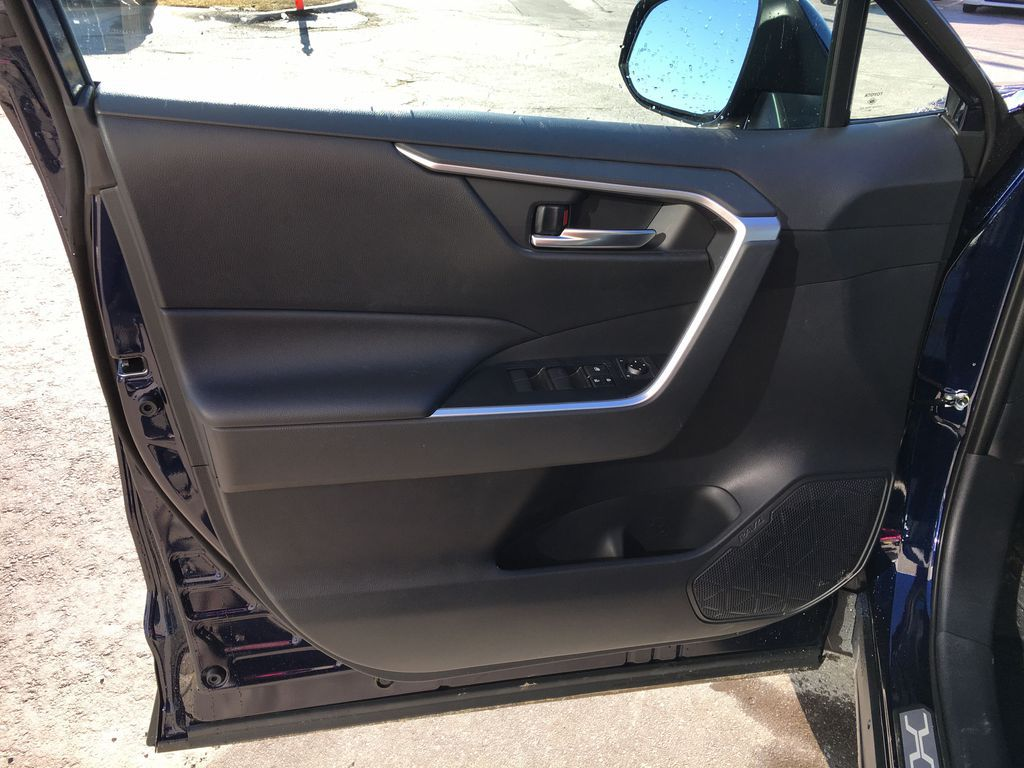 Blue[Blueprint] 2020 Toyota RAV4 AWD XLE Standard Package R1RFVT AM Left Front Interior Door Panel Photo in Brampton ON