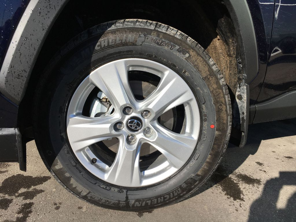 Blue[Blueprint] 2020 Toyota RAV4 AWD XLE Standard Package R1RFVT AM Left Front Rim and Tire Photo in Brampton ON