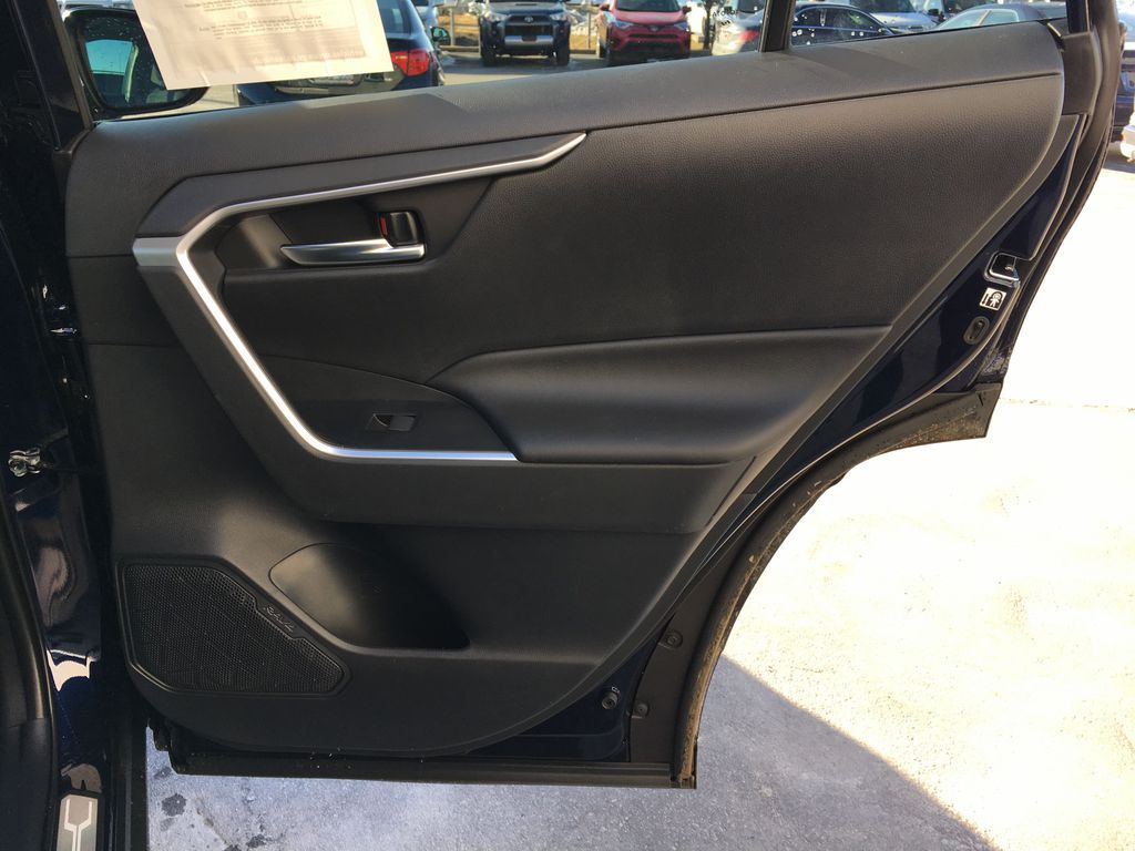 Blue[Blueprint] 2020 Toyota RAV4 AWD XLE Standard Package R1RFVT AM Right Rear Interior Door Panel Photo in Brampton ON