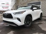 White[Blizzard Pearl] 2020 Toyota Highlander AWD Platinum Package DZRBHT BC Primary Listing Photo in Brampton ON