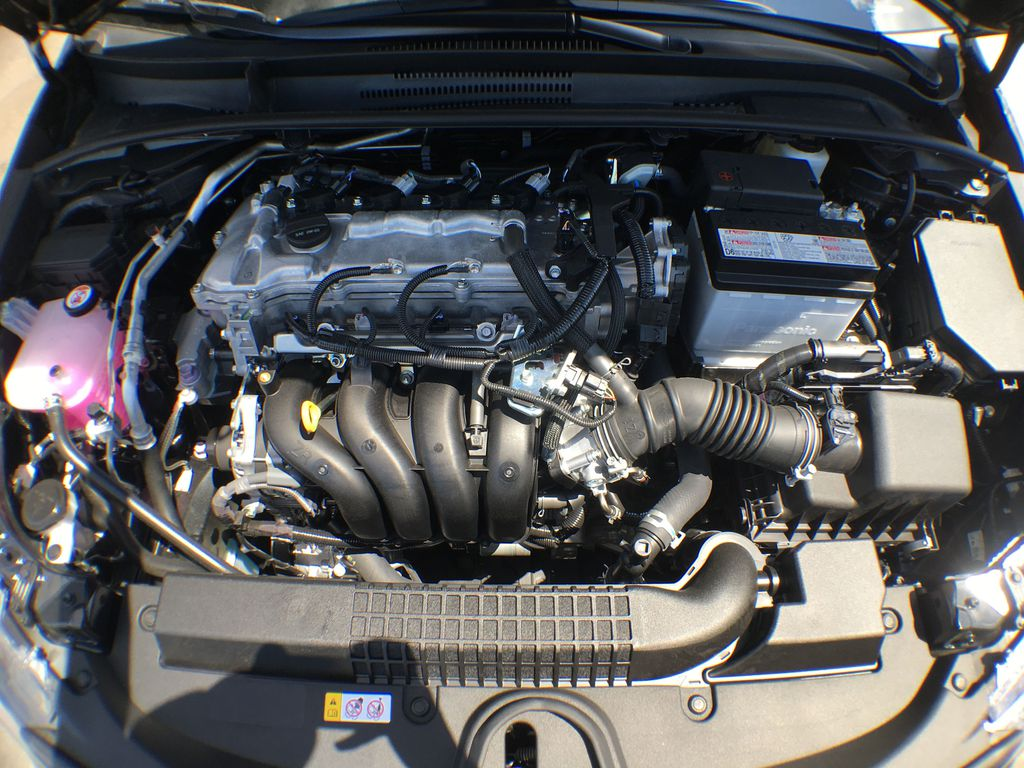 Black[Black Sand Pearl] 2020 Toyota Corolla LE Standard Package BPRBLC AM Engine Compartment Photo in Brampton ON