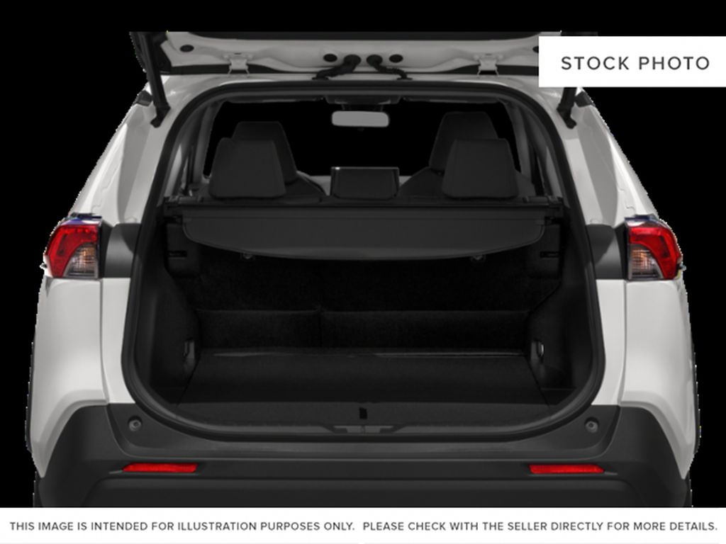 Red[Ruby Flare Pearl] 2020 Toyota RAV4 XLE Trunk / Cargo Area Photo in Kelowna BC
