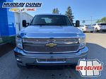 White[Summit White] 2011 Chevrolet Silverado 2500HD Front Vehicle Photo in Nipawin SK