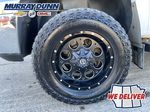 White[Summit White] 2011 Chevrolet Silverado 2500HD Left Front Rim and Tire Photo in Nipawin SK