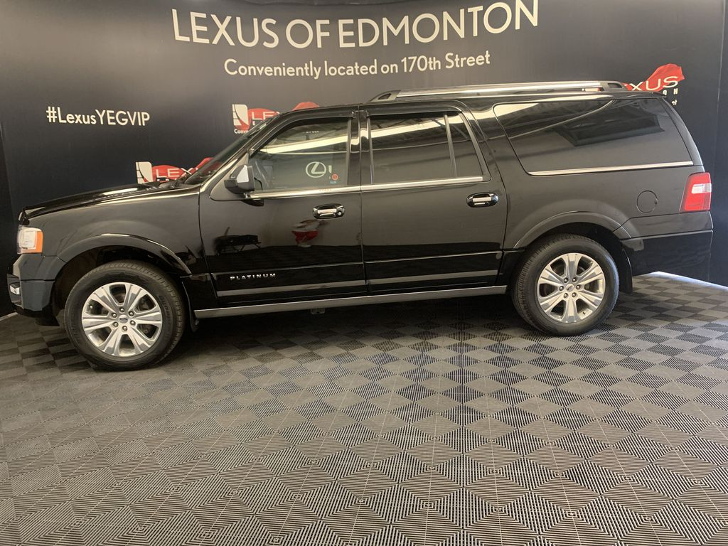 Black[Shadow Black] 2017 Ford Expedition Max Left Side Photo in Edmonton AB