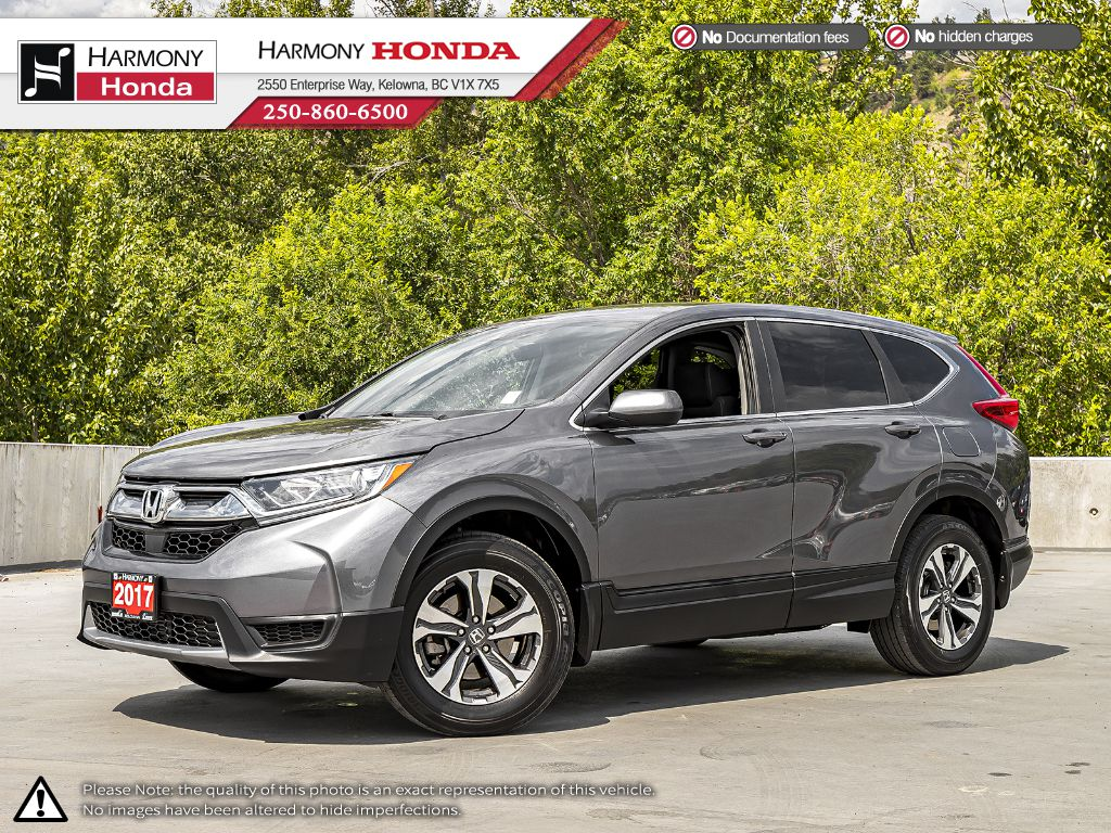 Grey 2017 Honda CR-V