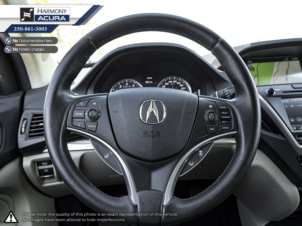 White [White Diamond Pearl] 2019 Acura MDX Right Side Front Seat  Photo in Kelowna BC