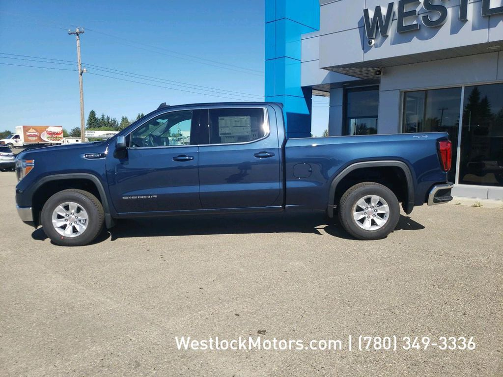 Blue 2020 GMC Sierra 1500 Left Front Head Light / Bumper and Grill in Westlock AB