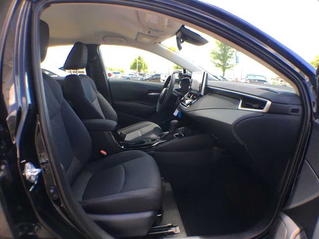 Black[Black Sand Pearl] 2020 Toyota Corolla LE Standard Package BPRBLC AM Right Side Front Seat  Photo in Brampton ON