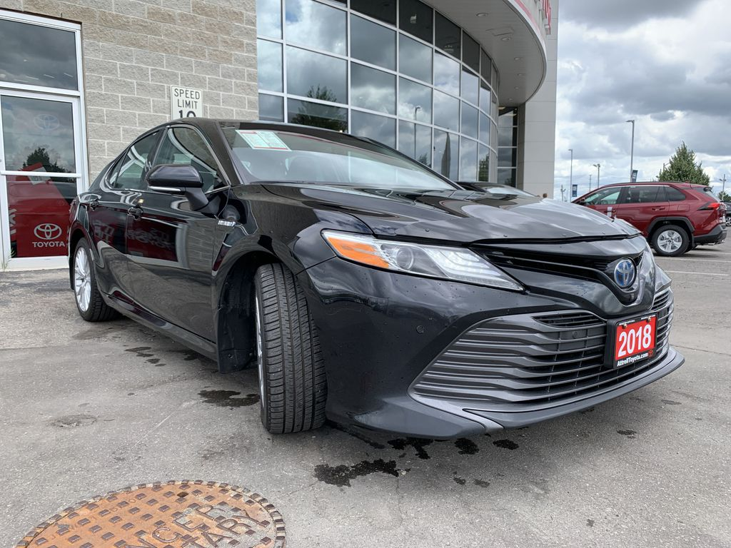Black 2018 Toyota Camry Hybrid STOCK NOT FOUND Engine Compartment Photo in Brampton ON