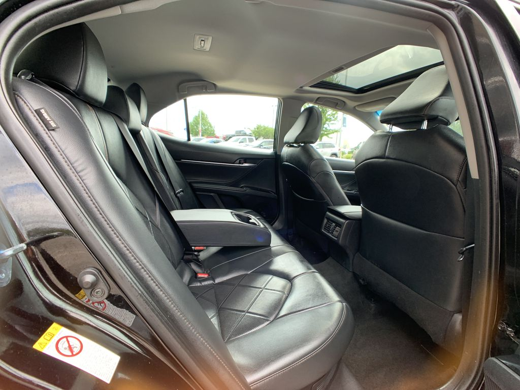 Black 2018 Toyota Camry Hybrid STOCK NOT FOUND Right Side Front Seat  Photo in Brampton ON