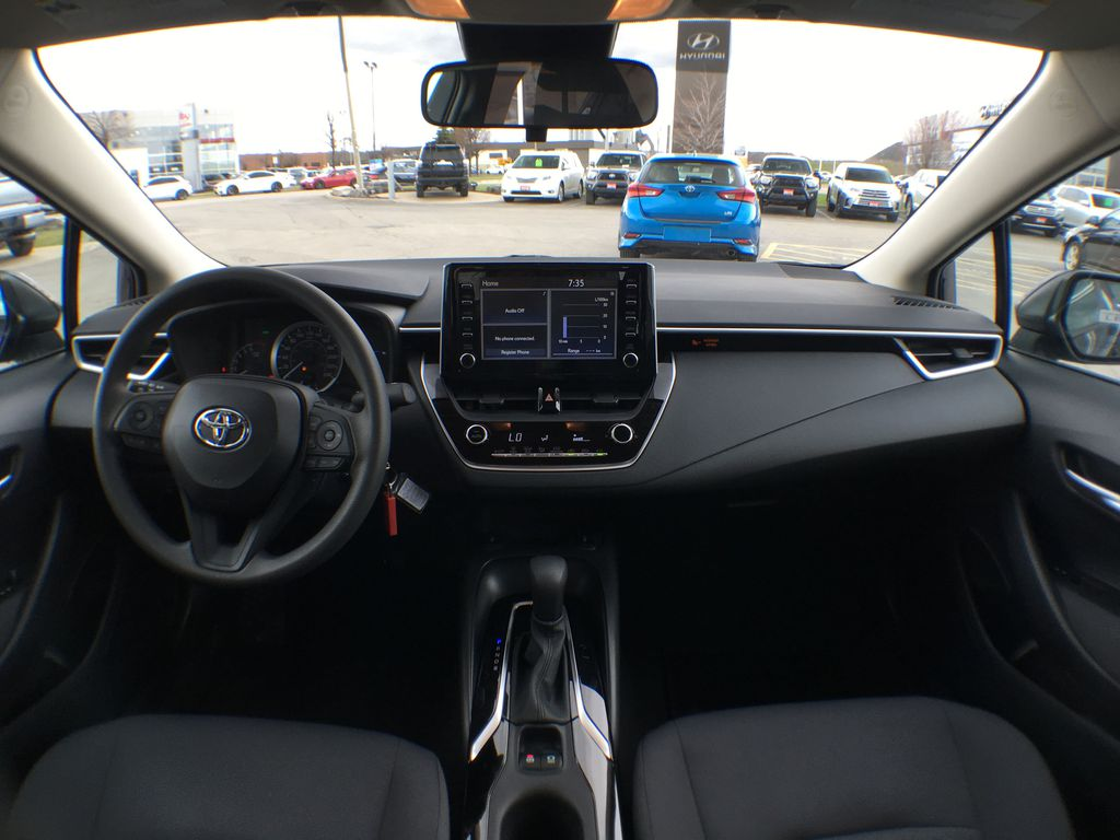 08X8 BLUEPRINT 2020 Toyota Corolla LE Standard Package BPRBLC AM Strng Wheel/Dash Photo: Frm Rear in Brampton ON