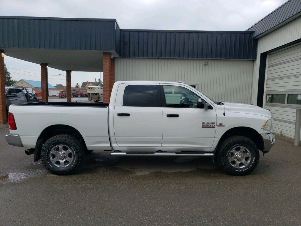 White 2018 Ram 3500 Left Front Interior Photo in Fort Macleod AB