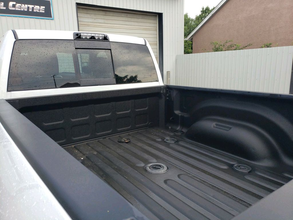 White 2018 Ram 3500 Left Side Rear Seat  Photo in Fort Macleod AB