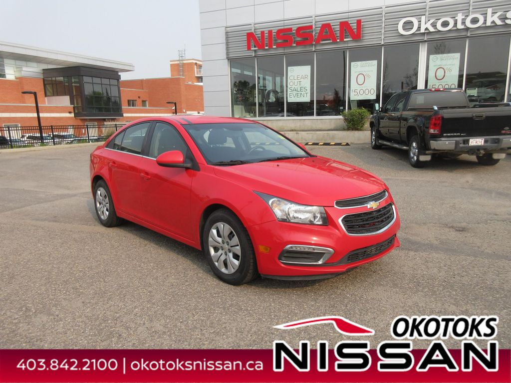 Red[Red Hot] 2015 Chevrolet Cruze