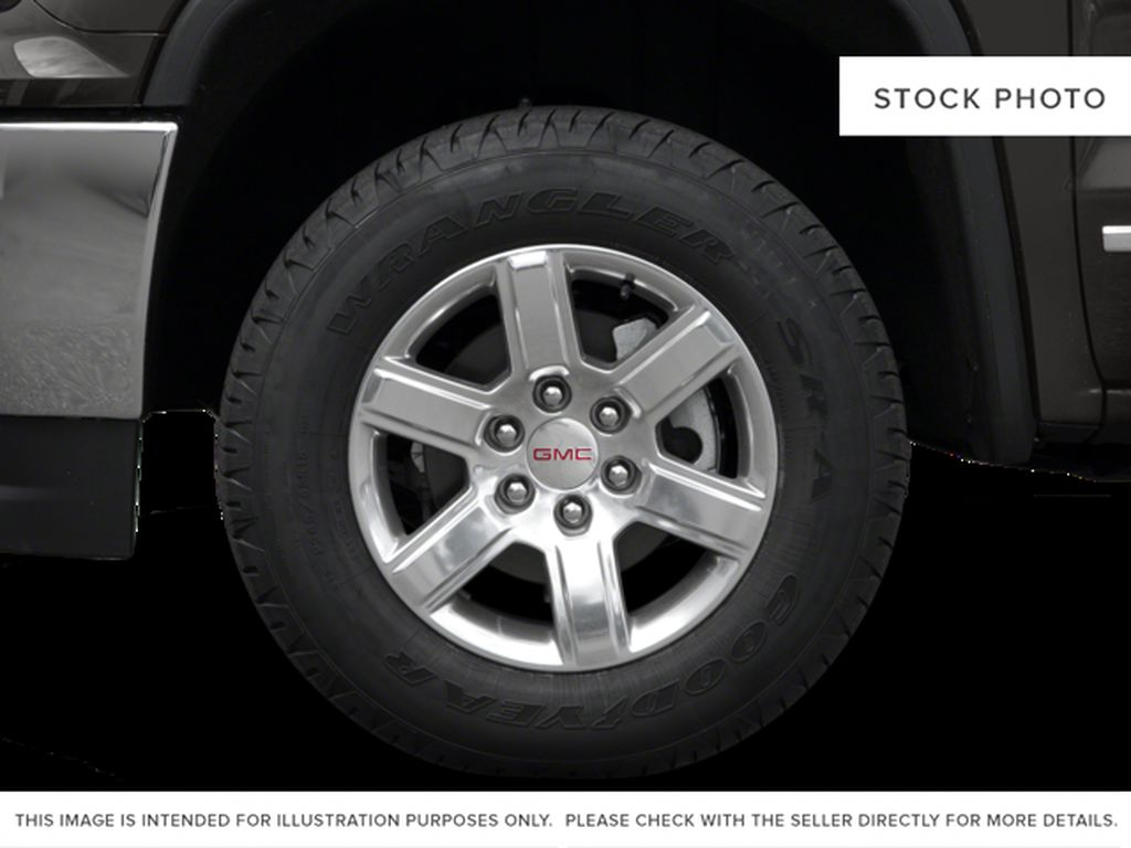 White[Summit White] 2017 GMC Sierra 1500 Left Front Rim and Tire Photo in Fort Macleod AB
