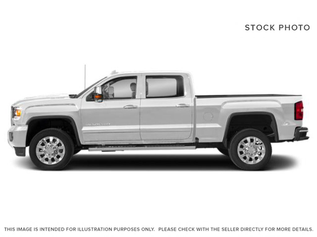 White[Summit White] 2018 GMC Sierra 2500HD Left Side Photo in Fort Macleod AB