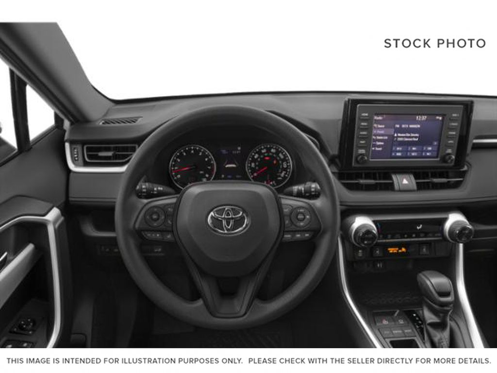 Red[Ruby Flare Pearl] 2020 Toyota RAV4 Left Front Interior Photo in Brockville ON