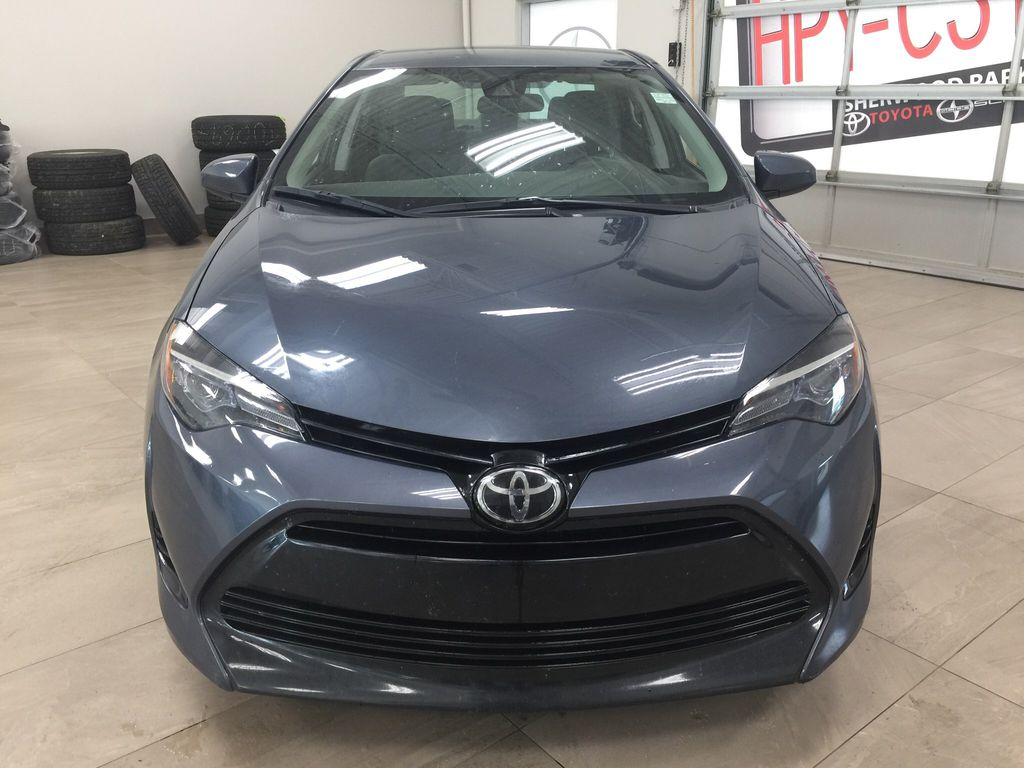 Gray[Slate Metallic] 2018 Toyota Corolla CE Manual Front Vehicle Photo in Sherwood Park AB