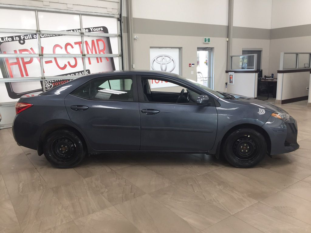 Gray[Slate Metallic] 2018 Toyota Corolla CE Manual Right Side Photo in Sherwood Park AB