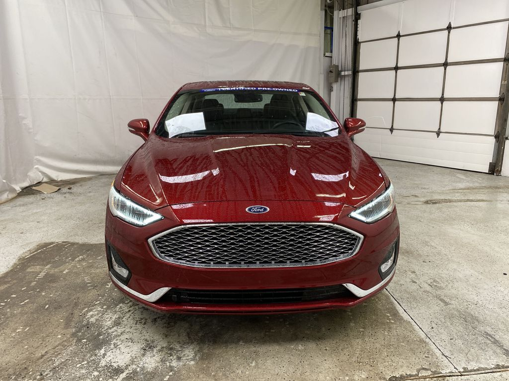 2019 Ford Fusion Hybrid Front Vehicle Photo in Dartmouth NS