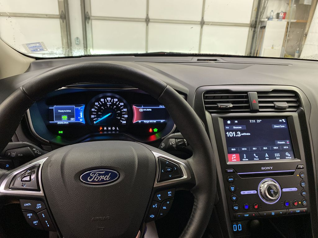 2019 Ford Fusion Hybrid Steering Wheel and Dash Photo in Dartmouth NS