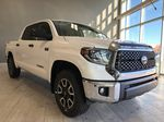Super White 2020 Toyota Tundra 4WD Left Front Interior Photo in Edmonton AB