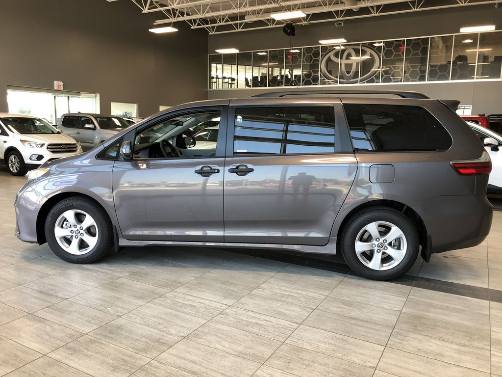 Pre-Dawn Grey Mica 2020 Toyota Sienna CE 7-Passenger V6 Left Side Photo in Edmonton AB