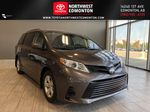 Pre-Dawn Grey Mica 2020 Toyota Sienna CE 7-Passenger V6 Primary Listing Photo in Edmonton AB