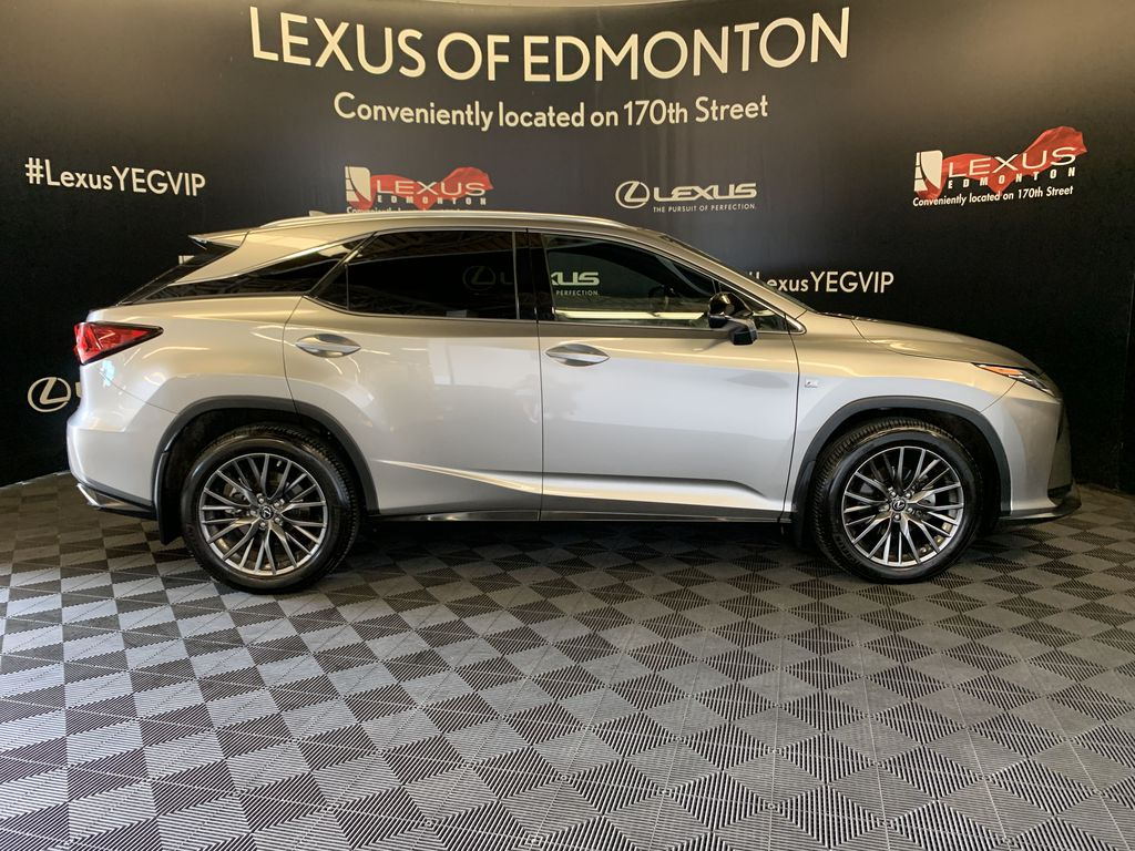 Silver[Atomic Silver] 2017 Lexus RX 350 Right Side Photo in Edmonton AB