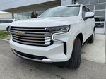 White[Iridescent Pearl Tricoat] 2021 Chevrolet Tahoe High Country Left Front Head Light / Bumper and Grill in Calgary AB