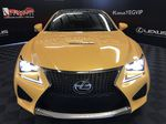 Yellow[Flare Yellow] 2019 Lexus RC F Front Bumper Grill Valance Photo in Edmonton AB