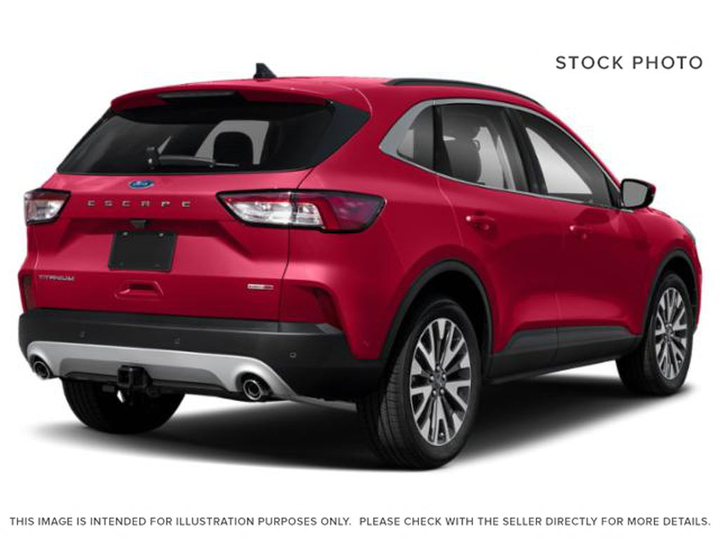 Red[Rapid Red Metallic Tinted Clearcoat] 2020 Ford Escape Right Rear Corner Photo in Dartmouth NS