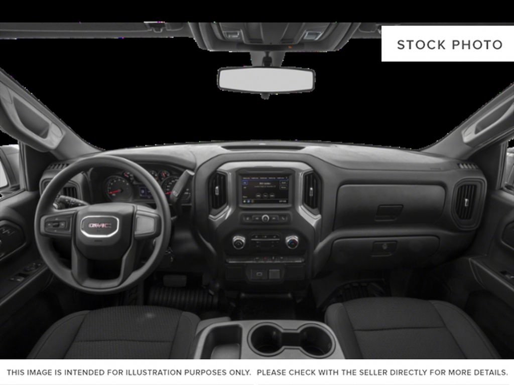 White[Summit White] 2020 GMC Sierra 1500 Central Dash Options Photo in Calgary AB
