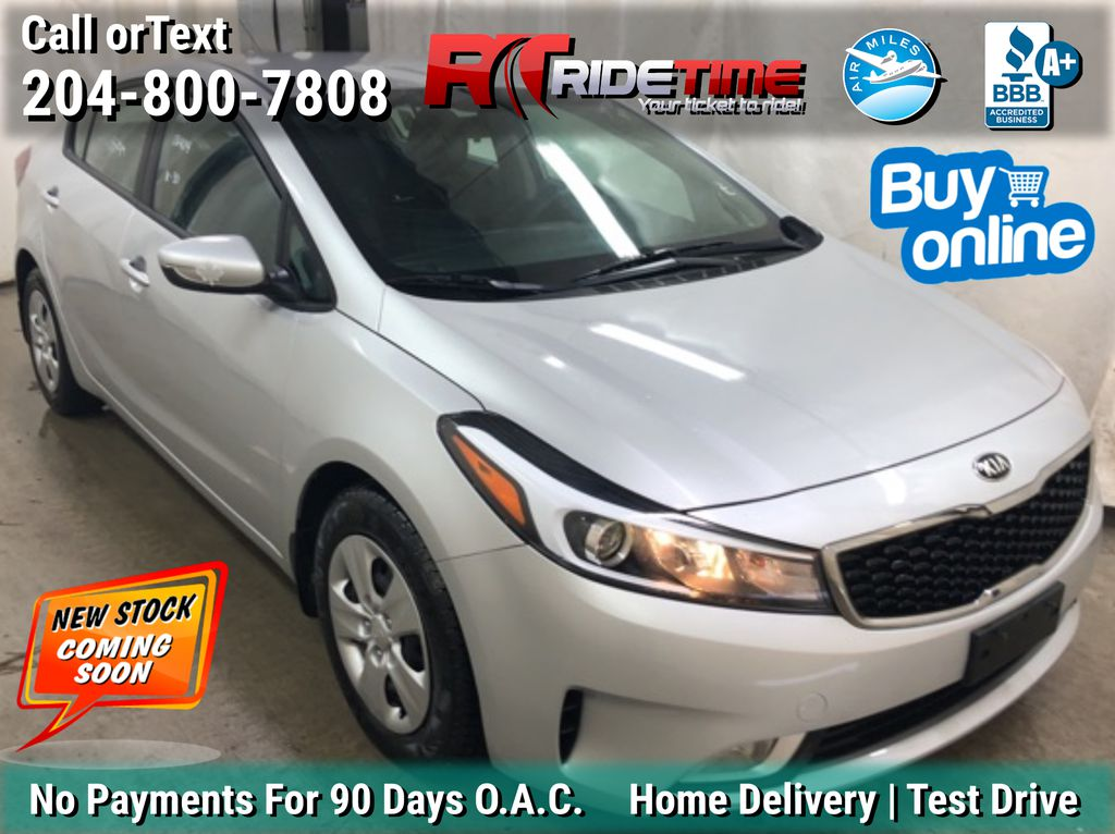 Silver[Ultra Silver Metallic] 2017 Kia Forte LX Plus - Automatic, Bluetooth, Heated Seats, LOW PRICE